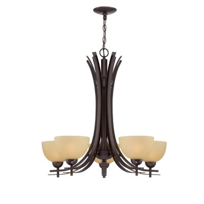 Tellis 5-Light Candle-Style Chandelier