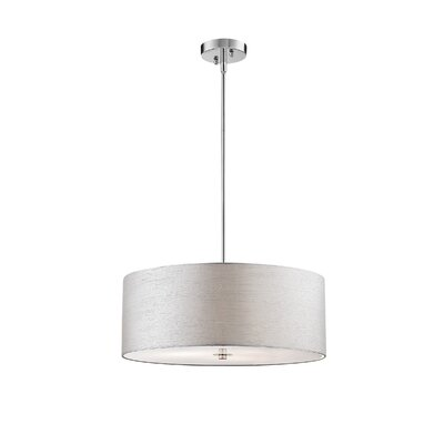 Hamon 3-Light Drum Pendant
