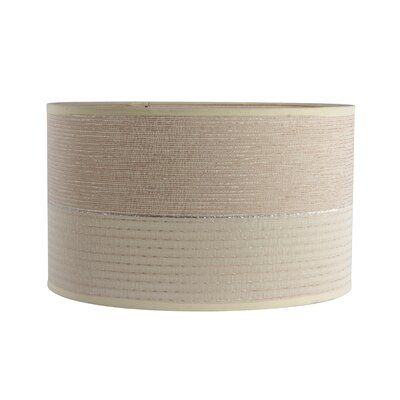 2-Tone Textured 15 Chenille Drum Lamp Shade