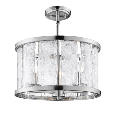 Fason 6-Light Semi-Flush Mount
