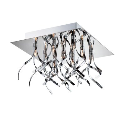 Wickman 9-Light Flush Mount