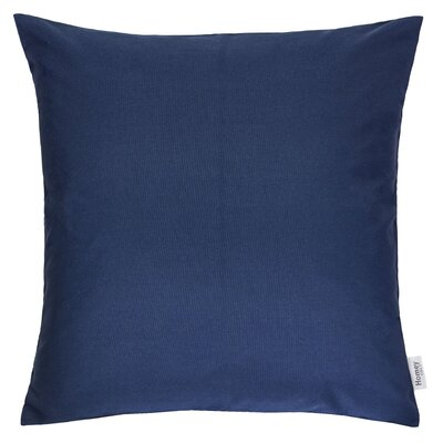 Outdoor Throw Pillow Color: Navy, Size: 20 x 20