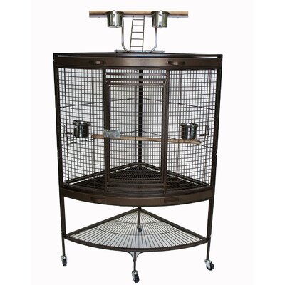 Corner Bird Cage with Stand