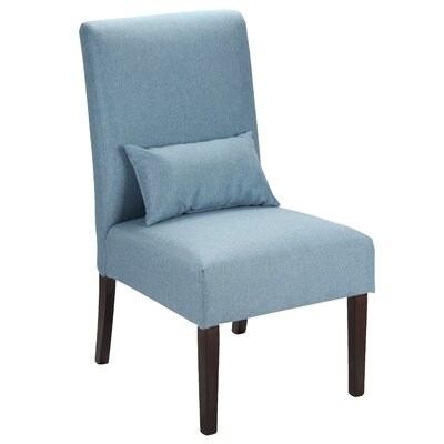Hyler Upholstered Dining Chair Upholstery Color: Blue