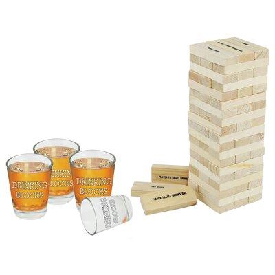 64 Piece Drinking Block and Shot Glass Set NGI-2291