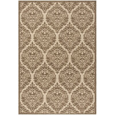 Burnell Cream/Beige Area Rug Rug Size: Rectangle 4 x 6