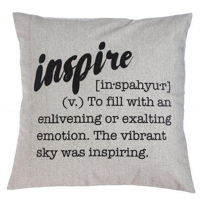 Guzzi Inspire Throw Pillow