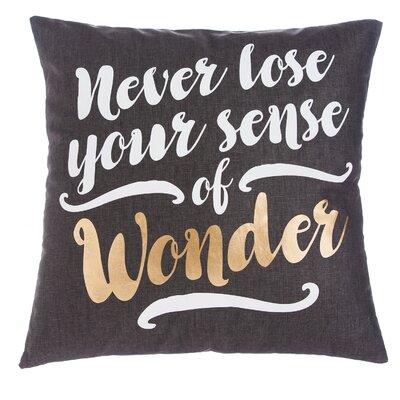Gwaltney Never Lose Your Sense of Wonder Throw Pillow