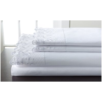 Higginson Lace Sheet Set Size: Full/Double