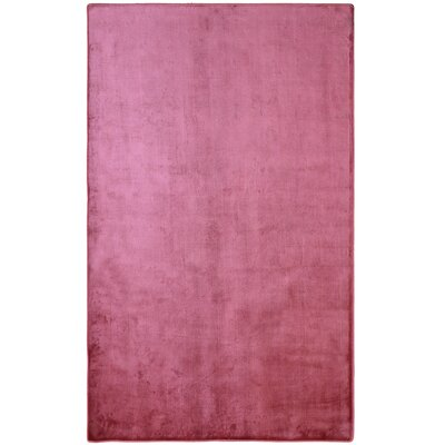 Ice Raspberry Pink Area Rug Rug Size: Rectangle 9 x 12