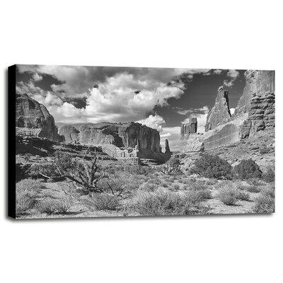 "'Arches_06' Photographic Print Format: Canvas, Size: 11.18"" H x 17.53"" W x 0.75"" D E25B0B99CCC846D9A865956F07296EBD"
