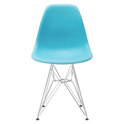 Rafael Dining Chair Color: Aqua