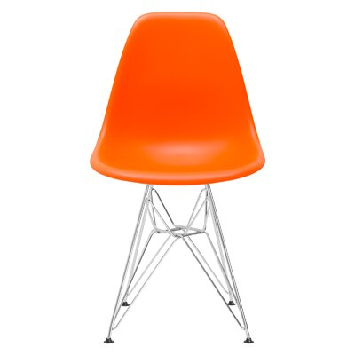 Rafael Dining Chair Color: Orange
