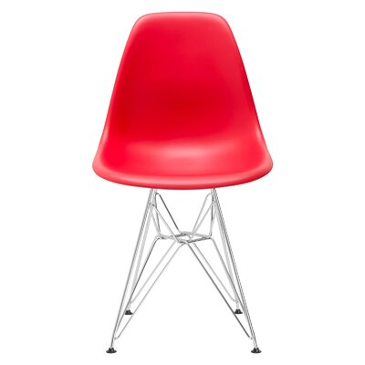 Rafael Dining Chair Color: Red