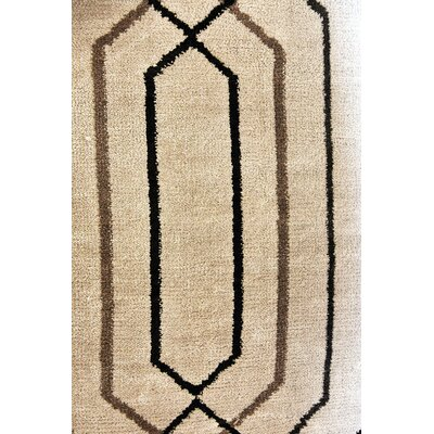 Margolis Modern Black/Brown Area Rug