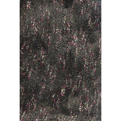 Marinello Modern Charcoal/Pink Area Rug
