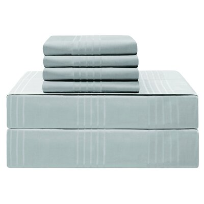 Gerardo Premium 420 Thread Count 100% Cotton Sheet Set Size: Queen, Color: Spa Blue