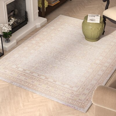 Sofian Gray Area Rug Rug Size: Rectangle 53 x 73