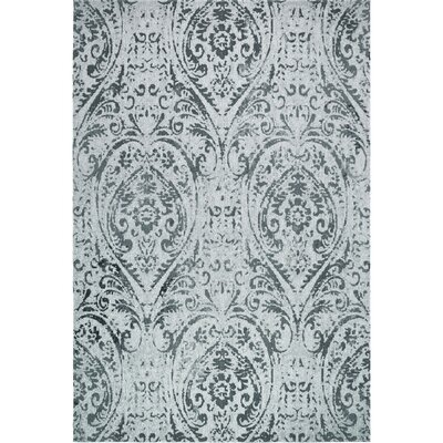 Sofia Transitional Ivory/Blue Indoor/Outdoor Area Rug Rug Size: Rectangle 79 x 102