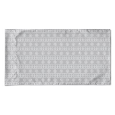Damascus Pillow Case Size: King, Color: Gray