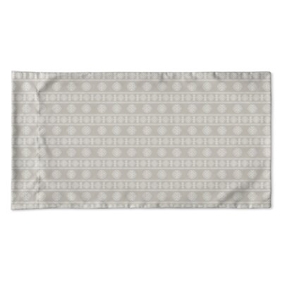 Damascus Pillow Case Size: King, Color: Taupe