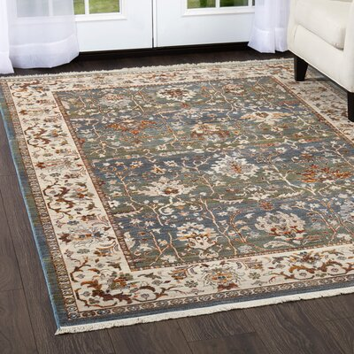 Kalish Distressed Gray Area Rug