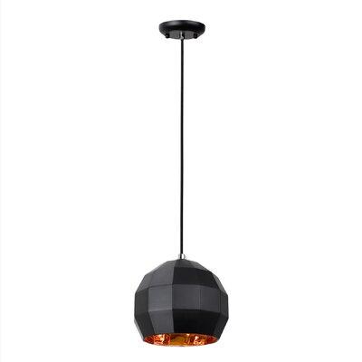 Heasley 1-Light Globe Pendant Size: 57.88 H x 9.88 W x 9.88 D