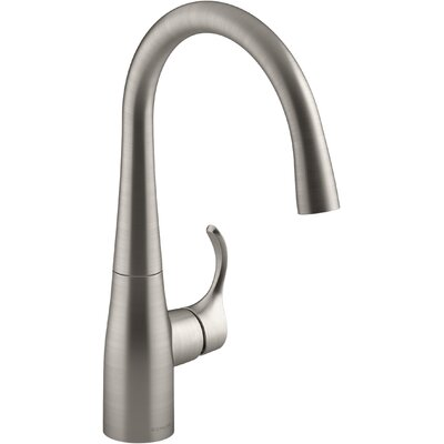 Simplice Bar Sink Faucet Finish: Vibrant Stainless Steel K-22034-VS