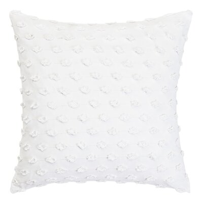 Basic Fringe 100% Cotton Throw Pillow