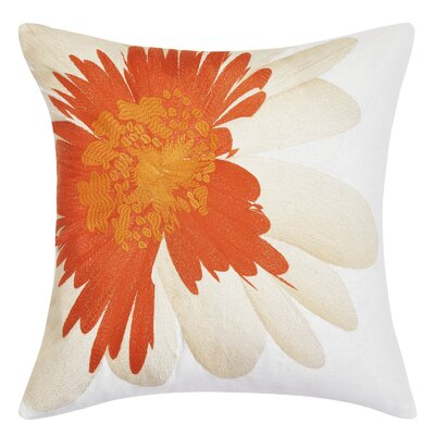 Palm Desert Daisy Throw Pillow