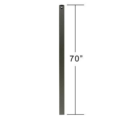 Ceiling Fan Downrod Size: 70 H x 3.8 W x 0.5 D