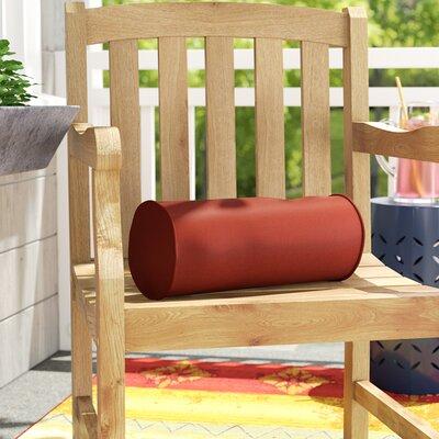 Ed Outdoor Sunbrella Bolster Pillow Color: Terracotta
