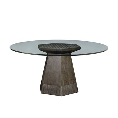 Hackney Dining Table Size: 29.875 H x 54 W x 54 L