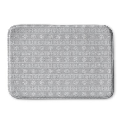 Pierro Memory Foam Bath Rug Size: 36 L x 24 W, Color: Gray
