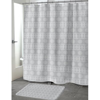 Puleo Shower Curtain Color: Gray, Size: 70 H x 72 W