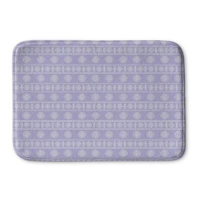 Pierro Memory Foam Bath Rug Size: 24 L x 17 W, Color: Lavender