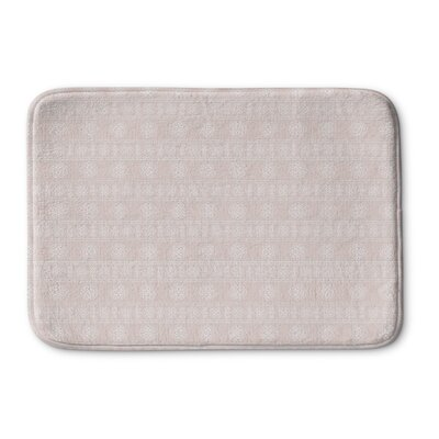 Pierro Memory Foam Bath Rug Size: 24 L x 17 W, Color: Pink