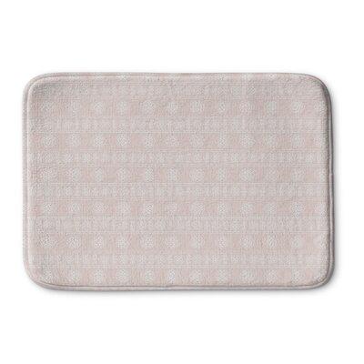 Pierro Memory Foam Bath Rug Size: 36 L x 24 W, Color: Pink