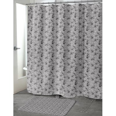Tomberlin Shower Curtain Color: Gray, Size: 70 H x 90 W