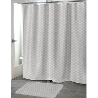 Heideman Shower Curtain Color: Purple, Size: 70 H x 72 W