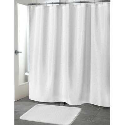 Mancini Shower Curtain Size: 70 H x 90 W