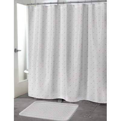South Venice Shower Curtain Size: 70 H x 90 W