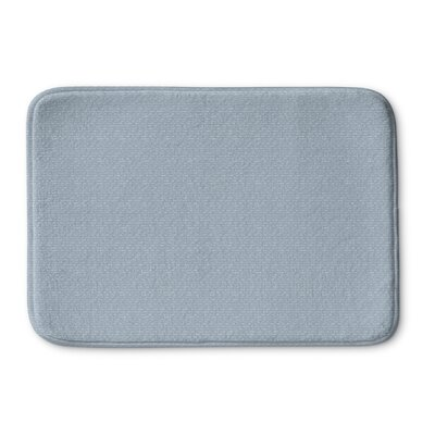 Logston Memory Foam Bath Rug Size: 36 L x 24 W, Color: Blue