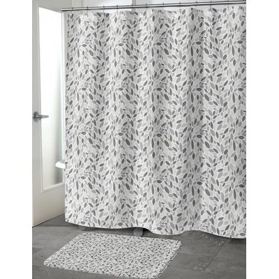 Todaro Shower Curtain Color: Gray/Tan, Size: 70 H x 72 W