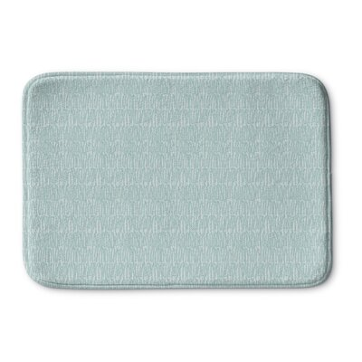 Mayton Memory Foam Bath Rug Size: 24 L x 17 W, Color: Green