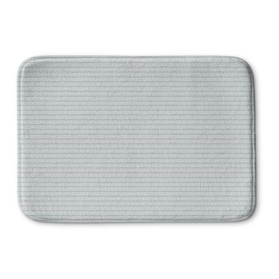 Andreas Memory Foam Bath Rug Size: 24 L x 17 W, Color: Blue