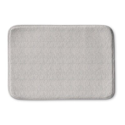 Mayton Memory Foam Bath Rug Size: 36 L x 24 W, Color: Peach