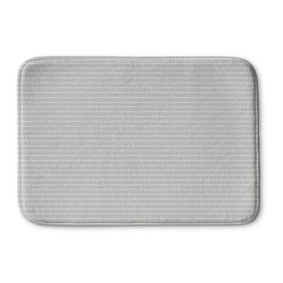 Andreas Memory Foam Bath Rug Size: 24 L x 17 W, Color: Beige