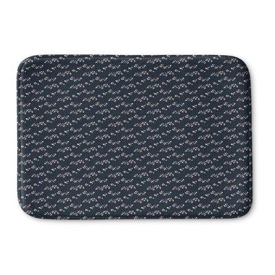 Mazur Memory Foam Bath Rug Size: 24 L x 17 W