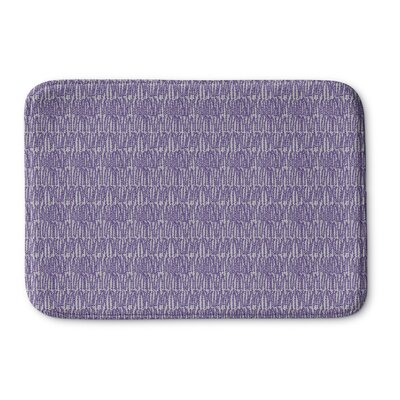 Mayton Memory Foam Bath Rug Size: 36 L x 24 W, Color: Purple